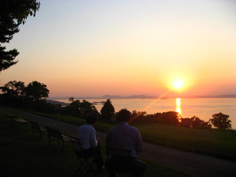 リゾートホテルオリビアン小豆島|夕陽の丘