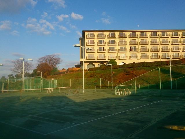 リゾートホテルオリビアン小豆島|テニスコートNo.3・4