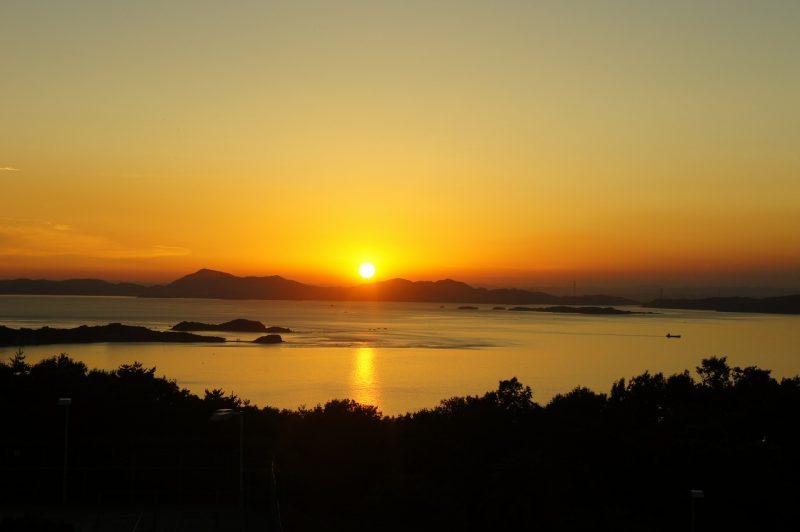 オリビアンの夕陽|日本夕陽百選