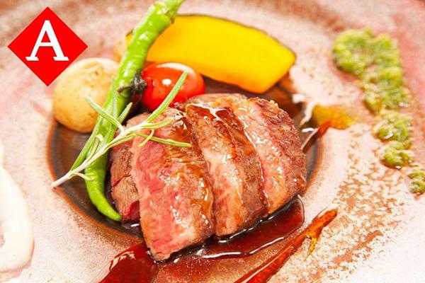オリーブ牛ステーキ